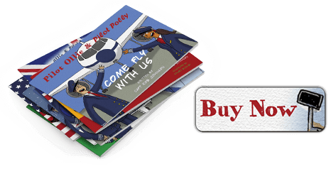 Pilot Ollie and Pilot Polly Books for Sale