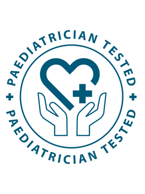 Paediatrician Tested Logo