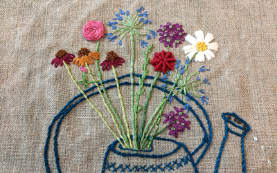 Hand Embroidery - Sew Forest of Dean